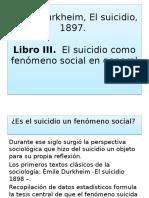 El Suicidio Durkheim