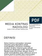 Media Kontras Radiologi