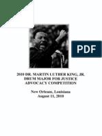 MLK Essay Scholarship Competition