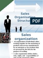 Sales Organisation Structure