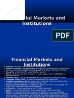 Financial Markets and Institutions -PART1