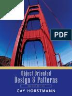 ObjectOrientedDesignPatterns_CayHorstmann_2nd