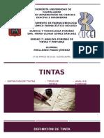Análisis Forense de Tintas