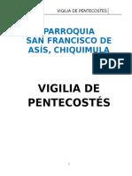 Vigilia de Pentecostes 29042016