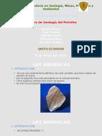 Precentación de Geología Del Petróleo