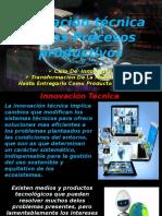 Innovacion Tecnica en Los Procesos Productivos