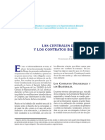 Centrales de Riesgo y Contratos