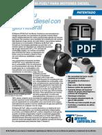 Motor Diesel a Gas