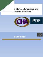 CHA Master Presentation Template 2
