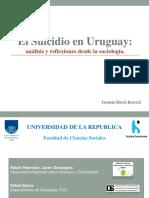 El Suicidio en Uruguay