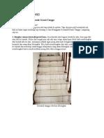 Mengganti keramik tangga