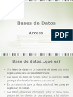 Bases de Datos ACCES
