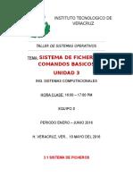 Sistema de Ficheros y Comandos Basicos