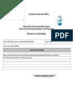 FORMATO REPORTE DE ACTIVIDADES (ANEXO 1) febrero.doc