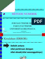 Sistem Persamaan Non Linier .