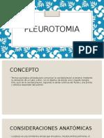 pleurotomia