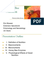 Bee Nutrition Eric Mussen
