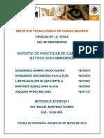 Reporte Practica 4 (Resistividad)