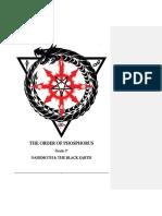 The Order of Phosphorus 2015 Gradebook 0
