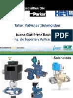 11-2 PARKER Taller Valvulas Solenoides