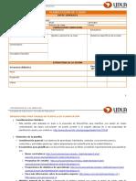 Planilla Planificación de Clases - UDLA 2016 - V1