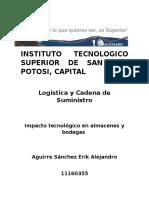 Tecnologia en Almacenes y Bodegas