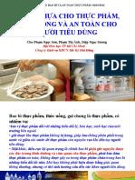 Bao Bi Nhua Cho Thuc Pham Thuc Uong Va an Toan Cho Nguoi Tieu Dung