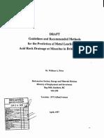 BC 1997 Draft Guideline