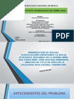 Proyecto Bolsa Plastica