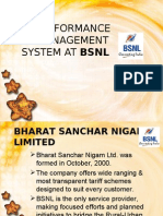 Performance Management System at BSNL