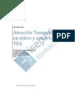 Atencion Temprana en Ninos Y Ninas Con Tea