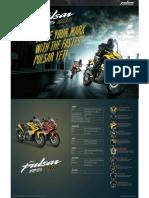 Pulsar Rs 200 Leaflet