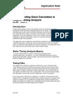 Slack Calculation[1]