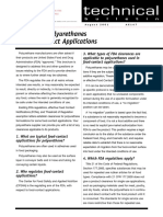 The Use of Polyurethanes in Food-Contact Applications