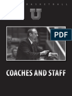 Coaches and Staff New