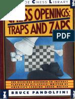 Pandolfini Chess Openings Traps and Zaps 1989 PDF