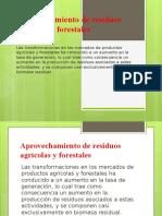Aprovechamiento de Residuos Agrícolas y Forestales