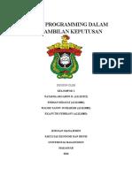 Klp 1 Program Linear