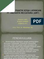 Laporan Praktik Kerja Lapangan Pt Amt