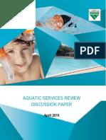 Aquatic Services Review Discussion Paper