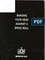 Banksy - Banging Your Head Against a Brick Wall
