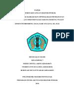 PAD dan optimalisasi PAD melalui sektor pajak burung walet