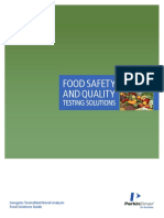 Food Analysis Solution Guide