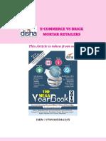 E-commerce vs. Brick and Mortar Retailers