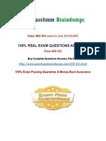 Pass4sure 400-101 Practice Questions