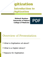 Introduction of Digitization