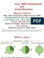 Strengthening  SMEs' Employment and Financial Education