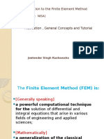 Introduction to the Finite Element Method (NISA) JSK