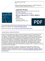 Military Revolution in Early Modern Japan [Stavros 2013]