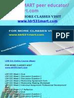 LDR 531 MART Peer Educator-ldr531mart.com